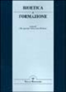 Libro Bioetica e formazione