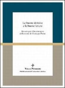 Le buone dottrine e le buone lettere. Brescia per il bicentenario della morte di Giuseppe Parini