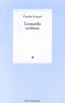 Leonardo scrittore - Claudio Scarpati - copertina