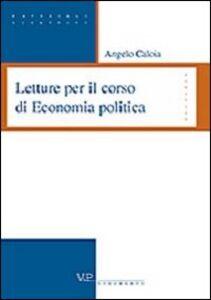 Libro Letture per il corso di economia politica Angelo Caloia