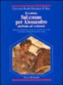 Il trattato sul cosmo per Alessandro attribuito ad Aristotele. Testo greco a fronte
