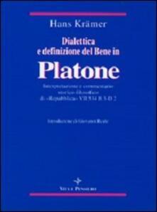 Winniearcher.com Dialettica e definizione del bene in Platone. Interpretazione e commentario storico-filosofico di «Repubblica» VII 534 B3-D2 Image