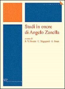 Foto Cover di Studi in onore di Angelo Zanella, Libro di  edito da Vita e Pensiero