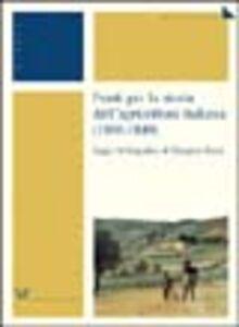 Fonti per la storia dell'agricoltura italiana (1800-1849)