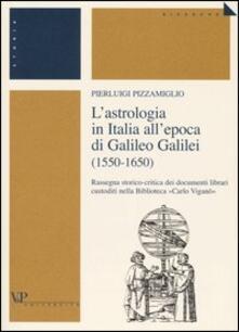 Lpgcsostenible.es L' astrologia in Italia all'epoca di Galileo Galilei (1550-1650). Rassegna storico-critica dei documenti librari custoditi nella Biblioteca «Carlo Viganò» Image