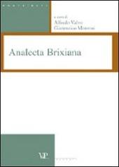 Analecta brixiana. Vol. 1