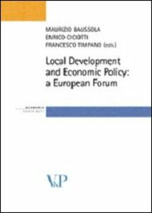 Foto Cover di Local Development and Economic Policy: a European Forum, Libro di  edito da Vita e Pensiero