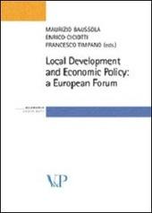 Local Development and Economic Policy: a European Forum