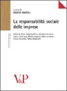 Foto Cover di La responsabilità sociale delle imprese, Libro di  edito da Vita e Pensiero
