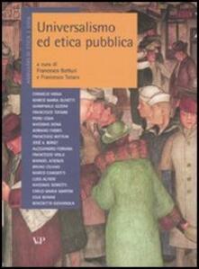 Camfeed.it Annuario di etica. Vol. 3: Universalismo ed etica pubblica. Image