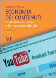 Recuperandoiltempo.it Economia dei contenuti. L'industria dei media e la rivoluzione digitale Image