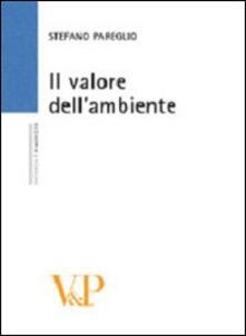 Il valore dell'ambiente - Stefano Pareglio - copertina