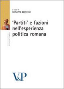 Libro «Partiti» e fazioni nell'esperienza politica romana