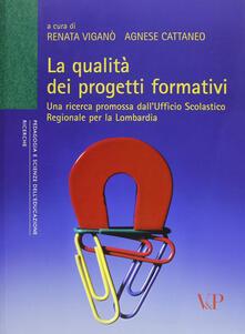 Teamforchildrenvicenza.it La qualità dei progetti formativi. Una ricerca promossa dall'ufficio scolastico regionale per la Lombardia Image