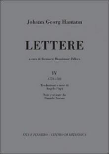 Winniearcher.com Lettere. Vol. 4: (1778-1782). Image