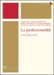 Libro La professionalità
