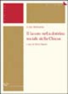 Lpgcsostenible.es Il lavoro nella dottrina sociale della Chiesa Image