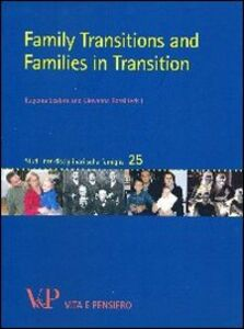 Libro Family transitions and families in transition