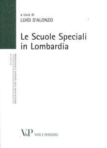 Le scuole speciali in Lombardia - copertina