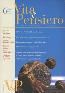 Promoartpalermo.it Vita e pensiero (2013). Vol. 6 Image