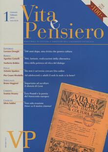 Listadelpopolo.it Vita e pensiero (2014). Vol. 1 Image