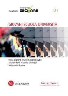 Giovani scuola università - AA.VV. - ebook