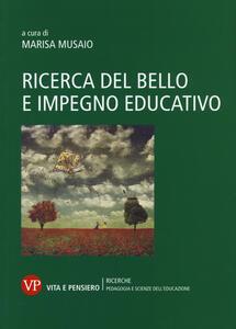 Ricerca del bello e impegno educativo - copertina