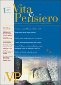 Vita e pensiero (2015). Vol. 1