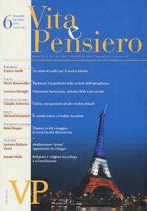 Vita e pensiero (2015). Vol. 6 - copertina
