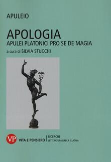 Secchiarapita.it Apologia. Apulei Platonici pro se de magia. Testo latino a fronte Image