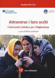 Attraverso i loro occhi. L'Università Cattolica per l'Afghanistan - copertina