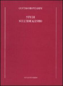 Libro Studi sull'idealismo Gustavo Bontadini