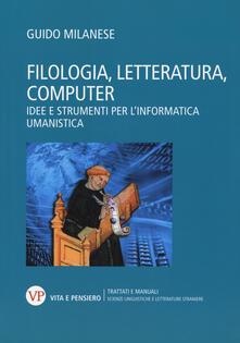 Aboutschuster.de Filologia, letteratura, computer. Idee e strumenti per l'informatica umanistica Image