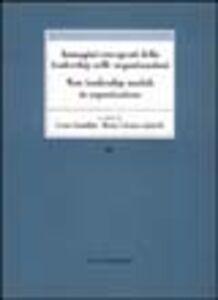 Foto Cover di Immagini emergenti della leadership nelle organizzazioni, Libro di  edito da Vita e Pensiero