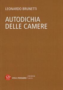 Autodichia delle camere - Leonardo Brunetti - copertina