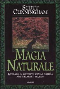 Libro Magia naturale Scott Cunningham