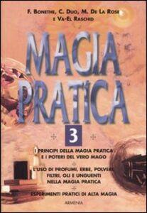 Foto Cover di Magia pratica. Vol. 3, Libro di  edito da Armenia