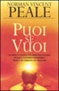 Libro Puoi se vuoi Norman V. Peale
