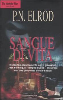 Sangue di vita. The Vampire Files. Vol. 2 - P. N. Elrod - copertina