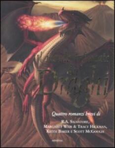 Il mondo infuocato dei draghi. Se mai s'imbattessero nella mia tana-Qui ci sono i draghi-I principi del fuoco-Predatore innaturale - copertina