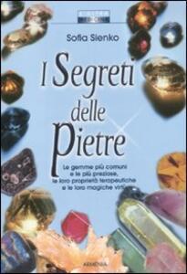 I segreti delle pietre - Sofia Sienko - copertina
