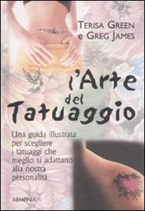 Libro L' arte del tatuaggio Terisa Green