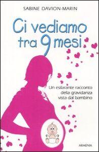 Libro Ci vediamo tra 9 mesi. Un esilarante racconto della gravidanza vista dal bambino Sabine Davion-Marin