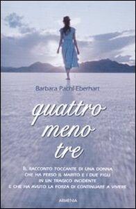 Libro Quattro meno tre Barbara Pachl-Eberhart