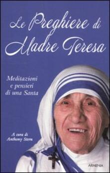 Ipabsantonioabatetrino.it Le preghiere di Madre Teresa. Meditazioni e pensieri di una santa Image