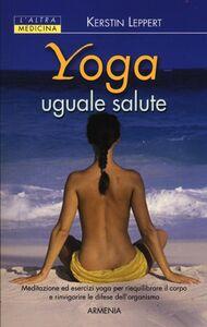 Libro Yoga uguale salute Kerstin Leppert