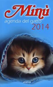 Minù. Agenda del gatto 2014 - copertina