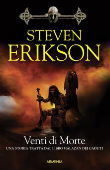 Venti di morte. La caduta di Malazan. Vol. 7 - Steven Erikson - copertina
