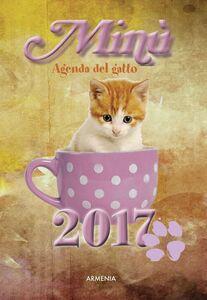 Libro Minù. Agenda del gatto 2017
