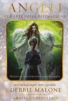 Osteriacasadimare.it Angeli. Le carte della divinazione. Con 36 carte Image